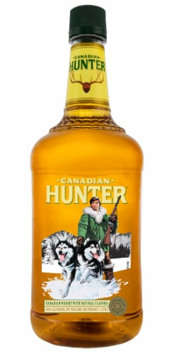 Canadian Hunter Canadian Whisky Perspective: front