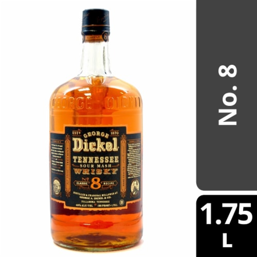 George Dickel No. 8 Tennessee Sour Mash Whisky Perspective: front