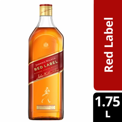Johnnie Walker Red Label Blended Scotch Whisky Perspective: front