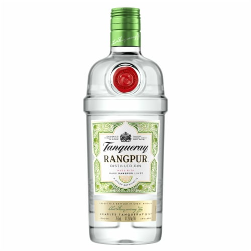 Tanqueray Rangpur Distilled Gin Perspective: front