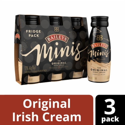 Baileys Minis The Original Irish Cream Liqueur Perspective: front