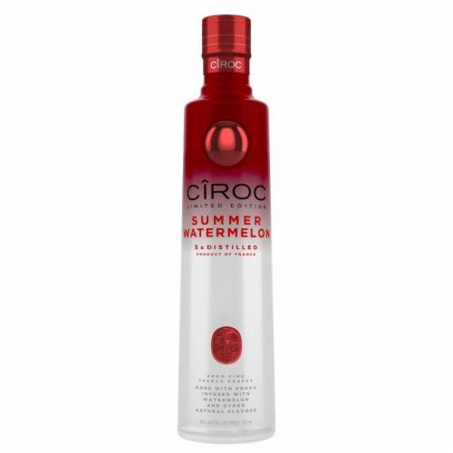 CIROC Summer Watermelon Vodka Perspective: front
