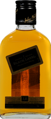 Johnnie Walker Black Label 12 Year Blended Scotch Whisky Perspective: front
