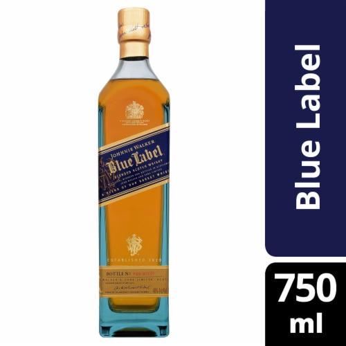 Johnnie Walker Blue Label Blended Scotch Whisky Perspective: front