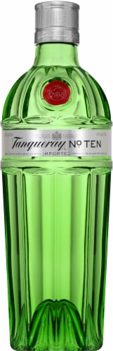 Tanqueray No. Ten Gin Perspective: front
