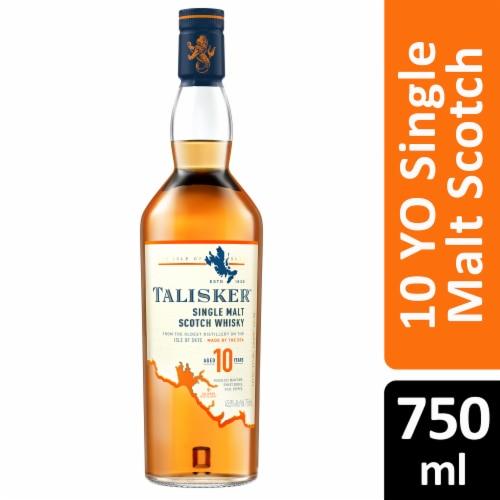 Talisker 10 Year Single Malt Scotch Whisky Perspective: front