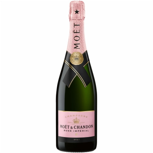 Moet & Chandon Rose Imperial Champagne Perspective: front
