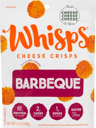 Whisps Barbeque Cheese Crisps Perspective: front