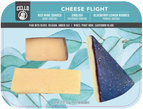 Cello Breeze Cheese Flight Perspective: front
