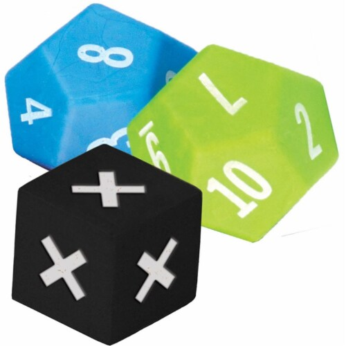 Teacher Created Resources TCR20812 Multiplication Dice - Pack of 3 Perspective: front