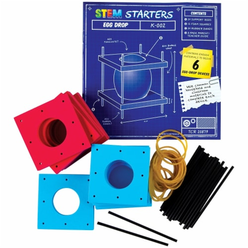 Teacher Created Resources TCR20879 Egg Drop Stem Starters Perspective: front