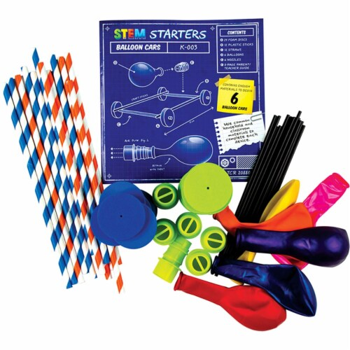 Teacher Created Resources TCR20880 Balloon Cars Stem Starters Perspective: front