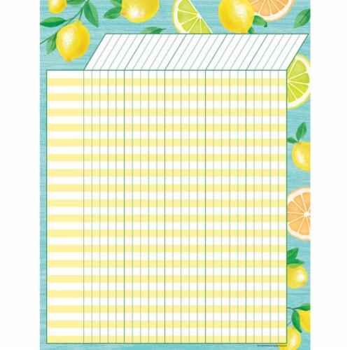 Lemon Zest Incentive Chart Perspective: front