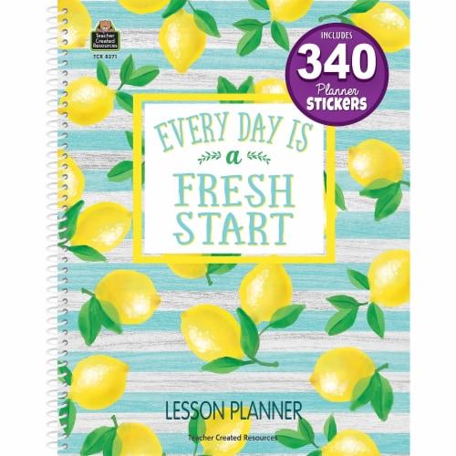 Lemon Zest Lesson Planner Perspective: front