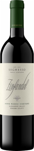 Seghesio Family Vineyards Zinfandel Red Wine Perspective: front