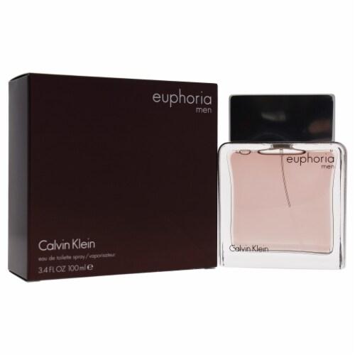 Euphoria by Calvin Klein for Men - 3.4 oz EDT Spray Perspective: front