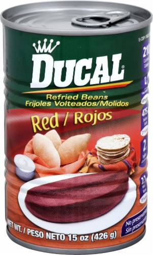 Ducal Refried Red Beans Perspective: front