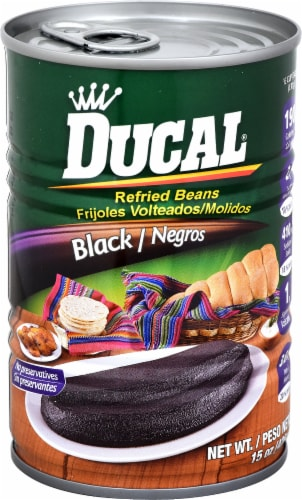 Ducal Black Refried Beans Perspective: front