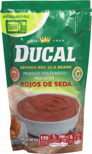 Ducal Rojos De Seda Refried Red Beans Perspective: front