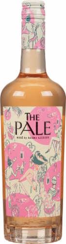 The Pale by Sacha Lichine Rose Wine Perspective: front