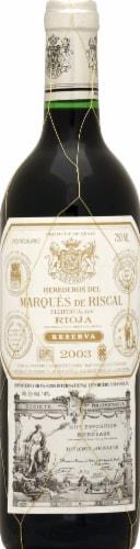 Marques de Riscal Rioja Reserva Perspective: front