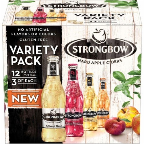 Strongbow Hard Apple Ciders Variety Pack Perspective: front