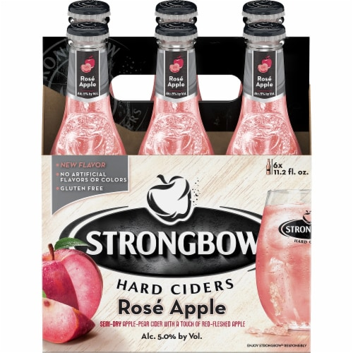 Strongbow Rose Apple Perspective: front