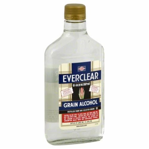 Everclear Grain Whiskey Perspective: front