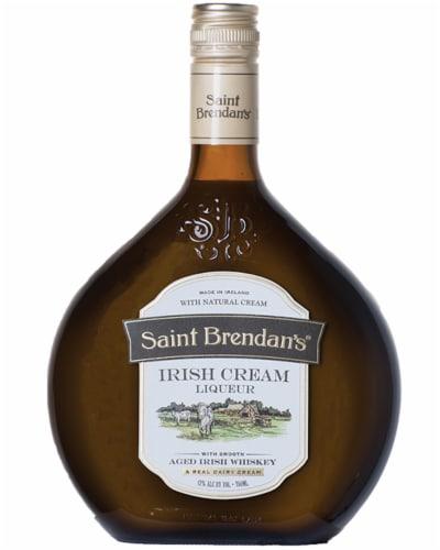 St. Brendan's Irish Cream Liqueur Perspective: front