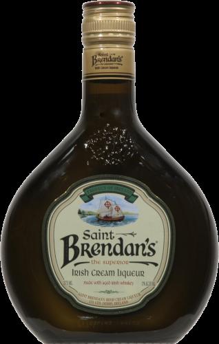 Saint Brendan's Irish Cream Cordial Perspective: front