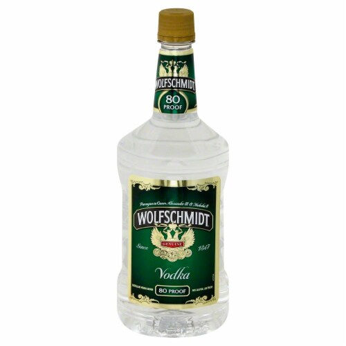 Wolfschmidt Vodka Perspective: front