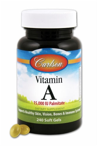 Carlson  Vitamin A Palmitate Perspective: front