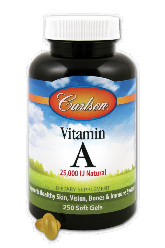 Carlson Vitamin A Soft Gels Perspective: front