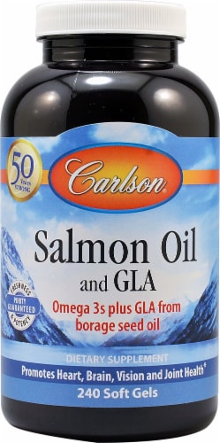 Carlson  Salmon Oil and GLA Perspective: front