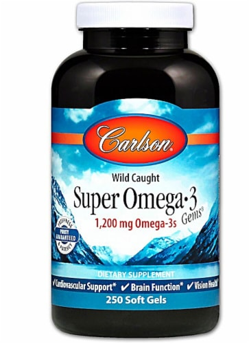 Carlson  Super Omega-3 Gems® Perspective: front