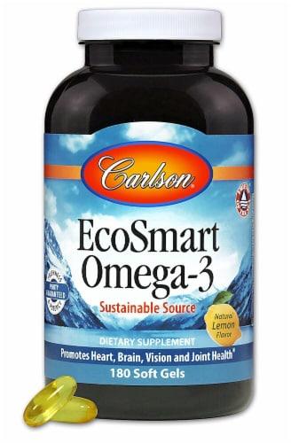 Carlson  EcoSmart® Omega-3   Lemon Perspective: front