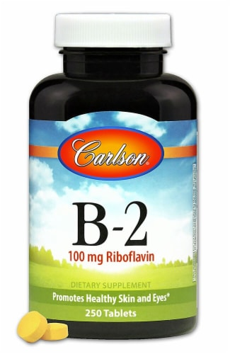 Carlson  Vitamin B-2 Riboflavin Supplements Perspective: front