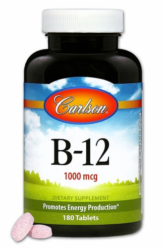 Carlson B-12 Supplement Perspective: front