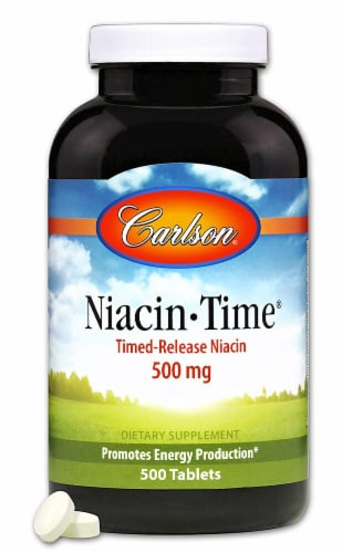 Carlson  Niacin-Time® Perspective: front