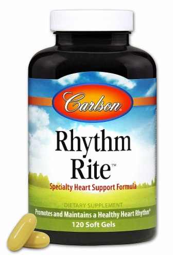 Carlson Rhythm Rite™ Supplements Perspective: front