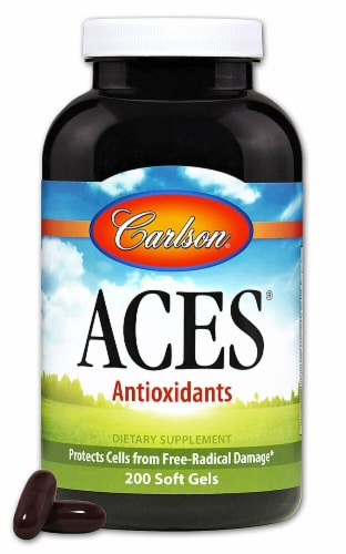Carlson  ACES® Antioxidants Perspective: front