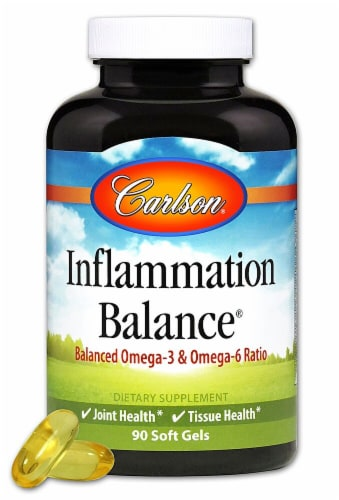 Carlson Inflammation Balance™ Softgels Perspective: front