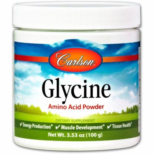 Carlson  Glycine Amino Acid Powder Perspective: front