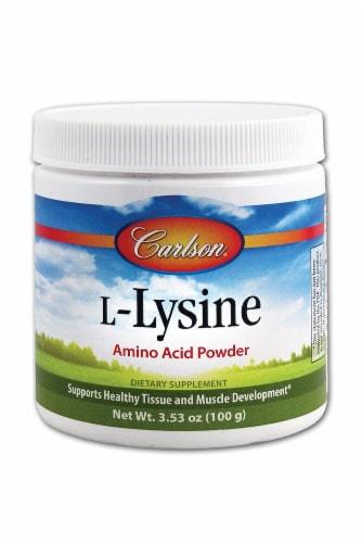 Carlson  L-Lysine Powder Perspective: front