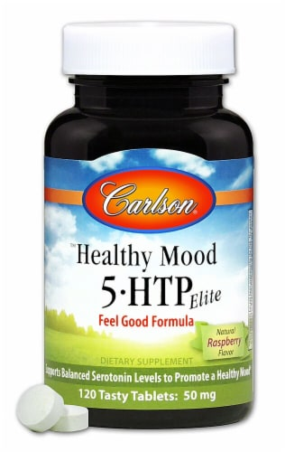 Carlson  Healthy Mood 5-HTP Elite Perspective: front
