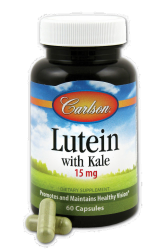 Carlson Lutein + Kale Perspective: front