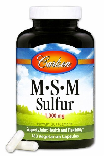 Carlson  MSM Sulfur Perspective: front