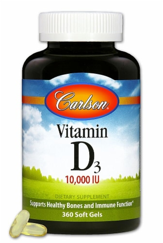 Carlson Vitamin D Supplements Perspective: front