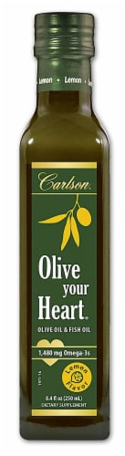 Carlson  Olive Your Heart Olive Oil   Lemon Perspective: front