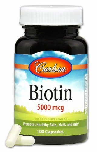 Carlson  Biotin Perspective: front